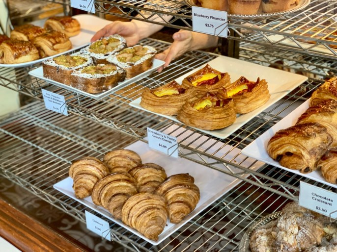 Reunion Bakery Display - Fun Things to Do in Staunton Virginia