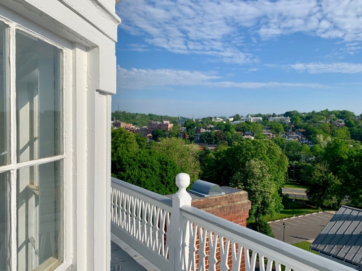 Staunton View from Blackburn Inn - Fun Things to Do in Staunton Virginia