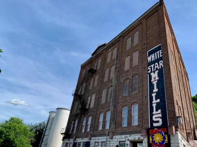 Staunton White Star Mills building