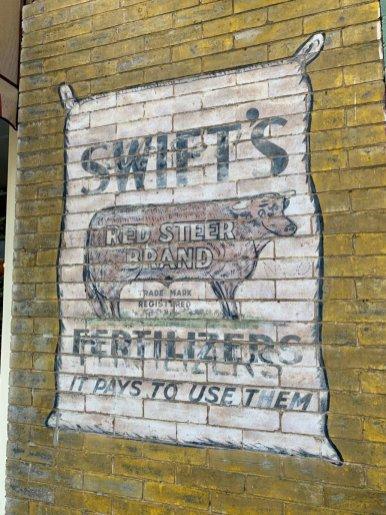 Swifts Fertilizer Sign - Fun Things to Do in Staunton Virginia