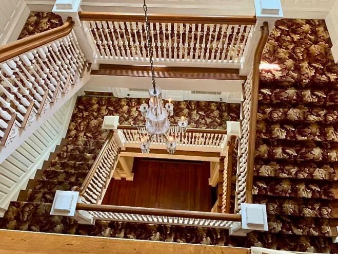 Staircase at Graystone Inn