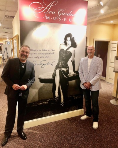 Ava Gardner Museum Jim Swilley and Ken Marshall
