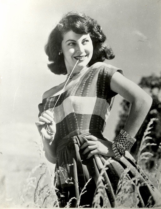 Ava Gardner outdoors