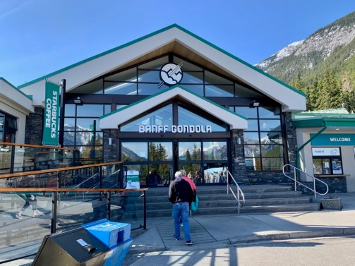 Banff Gondola Entrance - The Best Sites & Activities for a Town of Banff Adventure