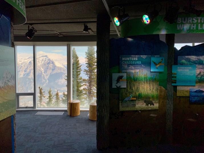 Banff Interpretive Center Exhibit - The Best Sites & Activities for a Town of Banff Adventure