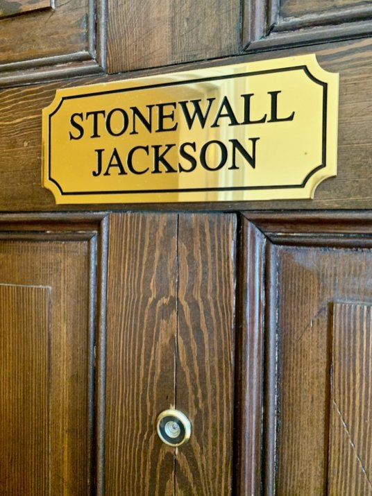 Col Alto Stonewall Jackson Door - Scenic & Historic Things to Do in Lexington, Virginia