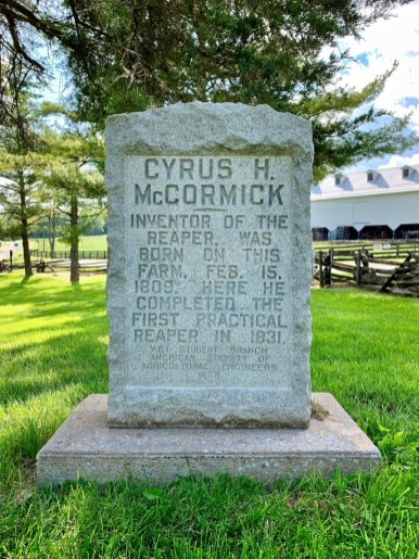 Cyrus McCormick Monument - Scenic & Historic Things to Do in Lexington, Virginia