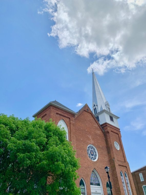 First Baptist Church Lexington Virginia - Scenic & Historic Things to Do in Lexington, Virginia