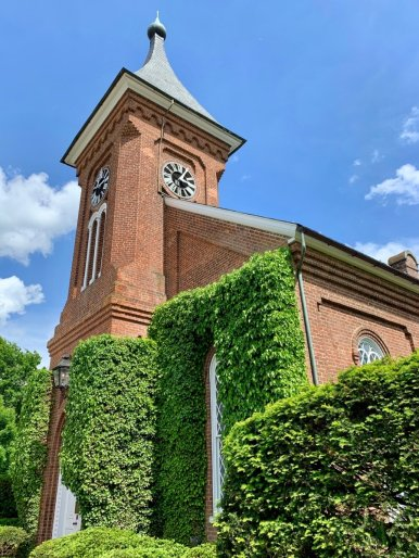 Lee Chapel Exterior - Scenic & Historic Things to Do in Lexington, Virginia