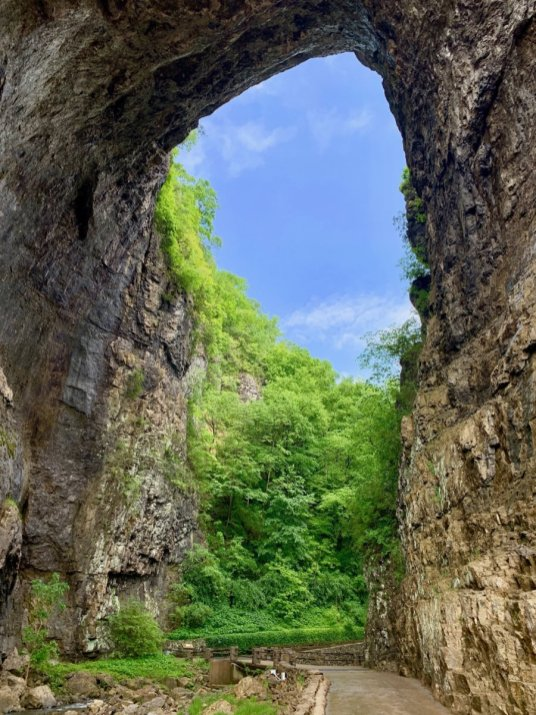 Natural Bridge Vertical - Scenic & Historic Things to Do in Lexington, Virginia