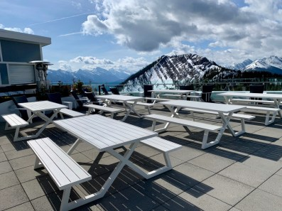 Observation Deck Picnic Tables - The Best Sites & Activities for a Town of Banff Adventure