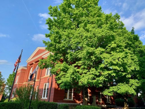 Old Rockbridge County Courthouse