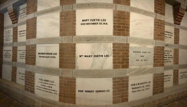 Robert E Lee Family Crypt