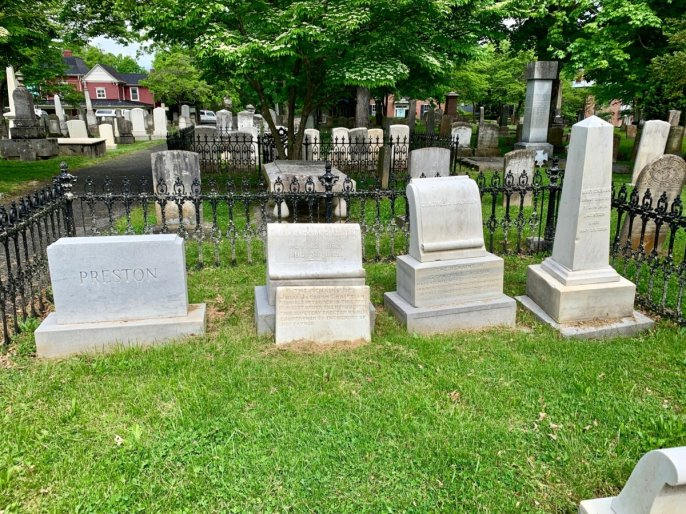 Stonewall Jackson Family Graves - Scenic & Historic Things to Do in Lexington, Virginia