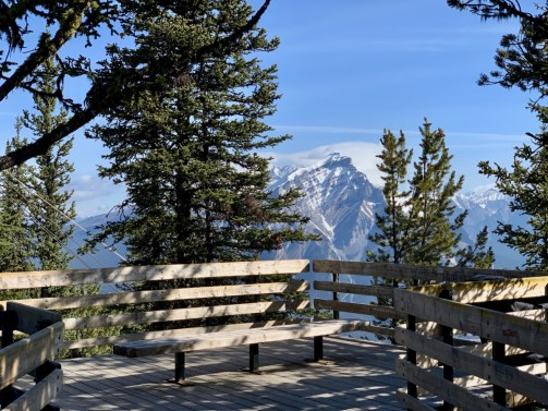 Sulphur Mountain Boardwalk Overlook