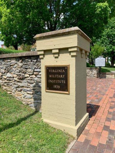 Virginia Military Institue Sign