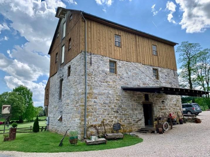 Wade's Mill Entrance