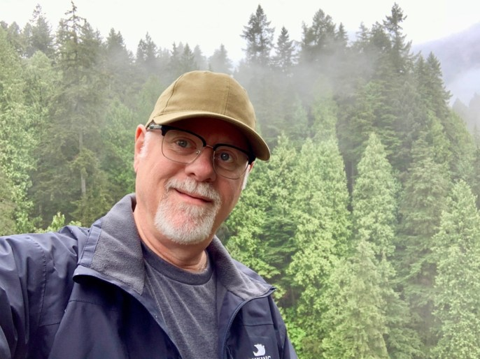 Howard Blount at Capilano Suspension Bridge Park