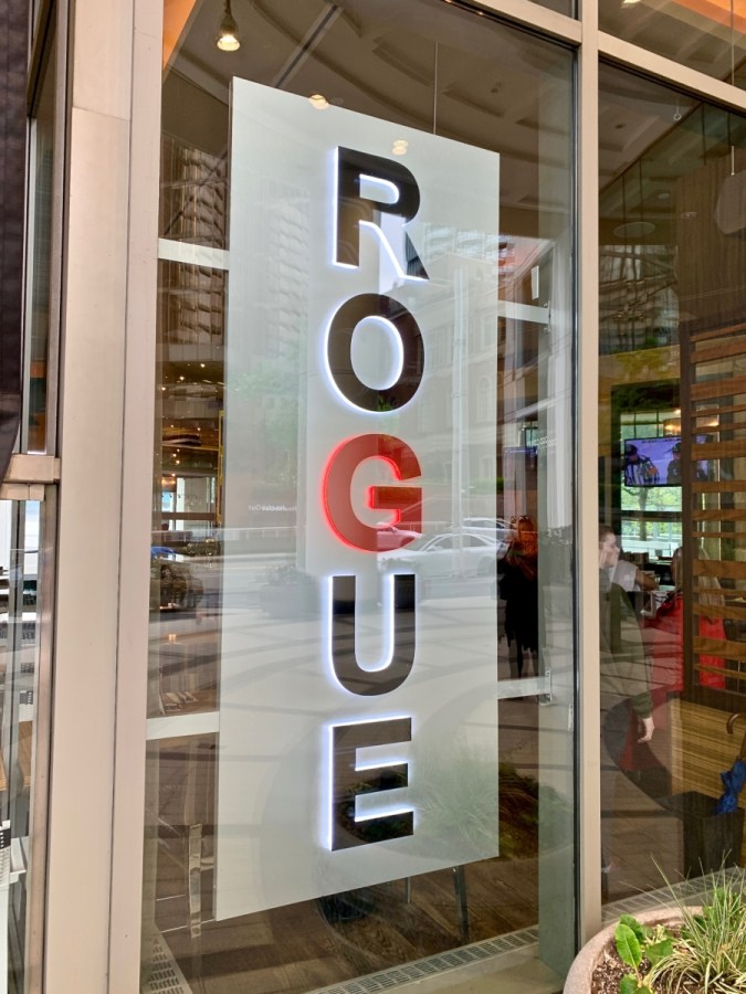 Rogue Kitchen Vancouver Sign
