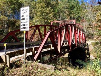 Steel Bridge near Devil's Elbow