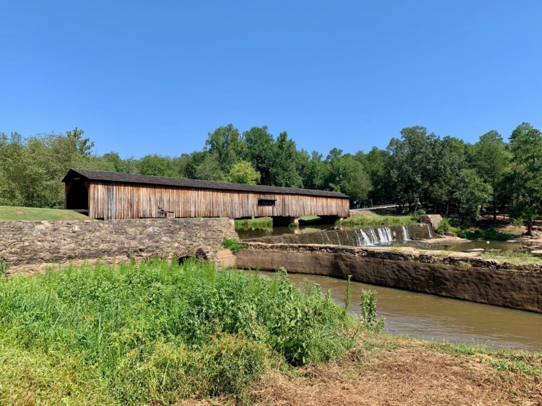 Watson Mill Covered Bridge and Dam