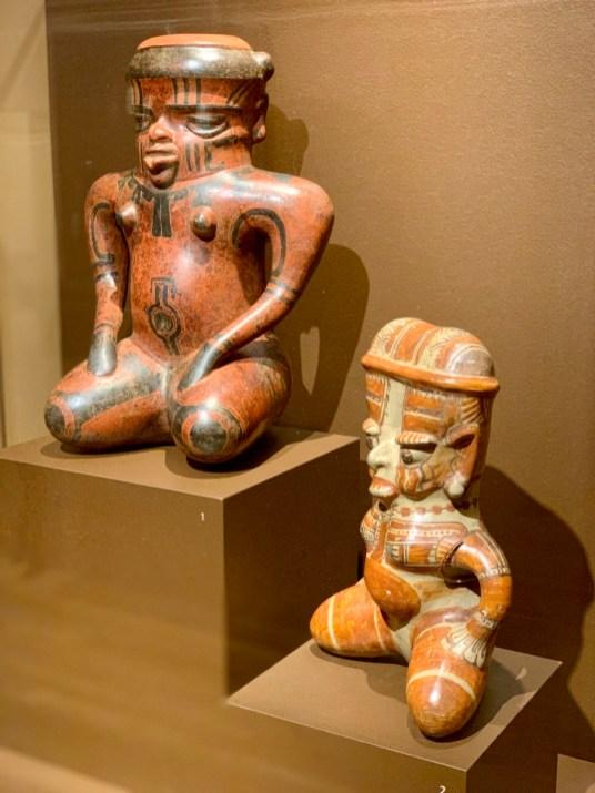 Central American Female Shaman Effigies