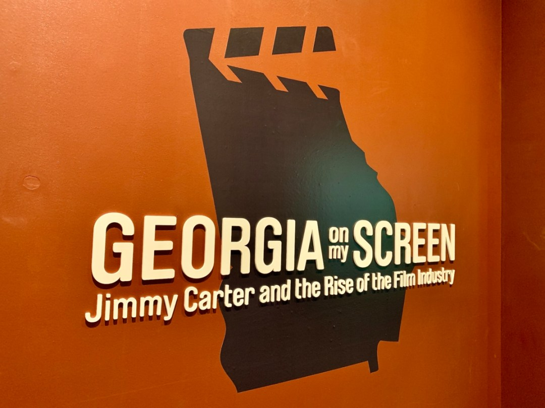Georgia on My Screen Exhibit - A Visit to the Jimmy Carter Presidential Library and Museum