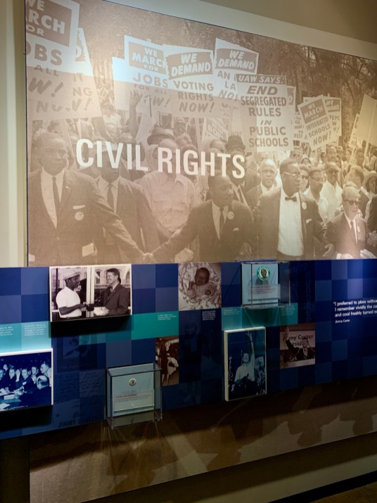 Jimmy Carter Civil Rights Exhibit - A Visit to the Jimmy Carter Presidential Library and Museum