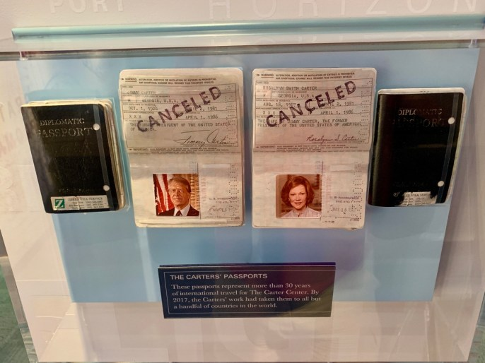 Jimmy Rosalynn Carter Passports - A Visit to the Jimmy Carter Presidential Library and Museum