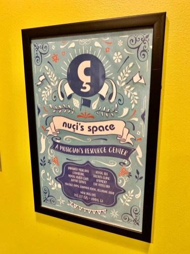 Nuçi's Space poster