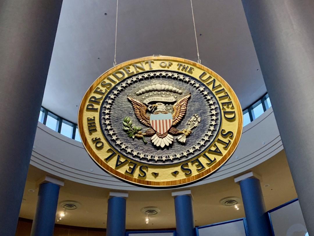Presidential Seal - A Visit to the Jimmy Carter Presidential Library and Museum