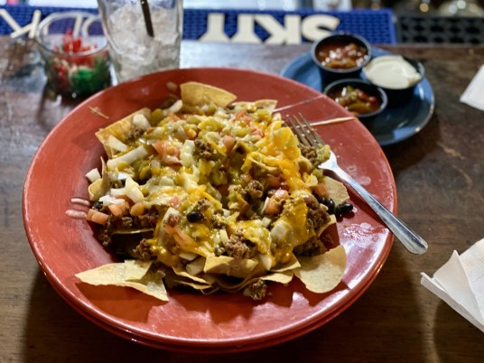 Rock Springs Cafe nachos - Things to Do on a Drive from Phoenix to Flagstaff, Arizona