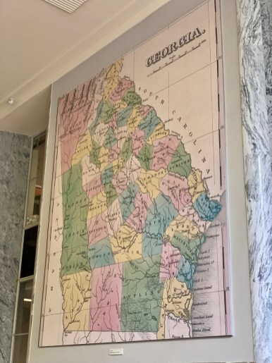 UGA Historical Georgia Map
