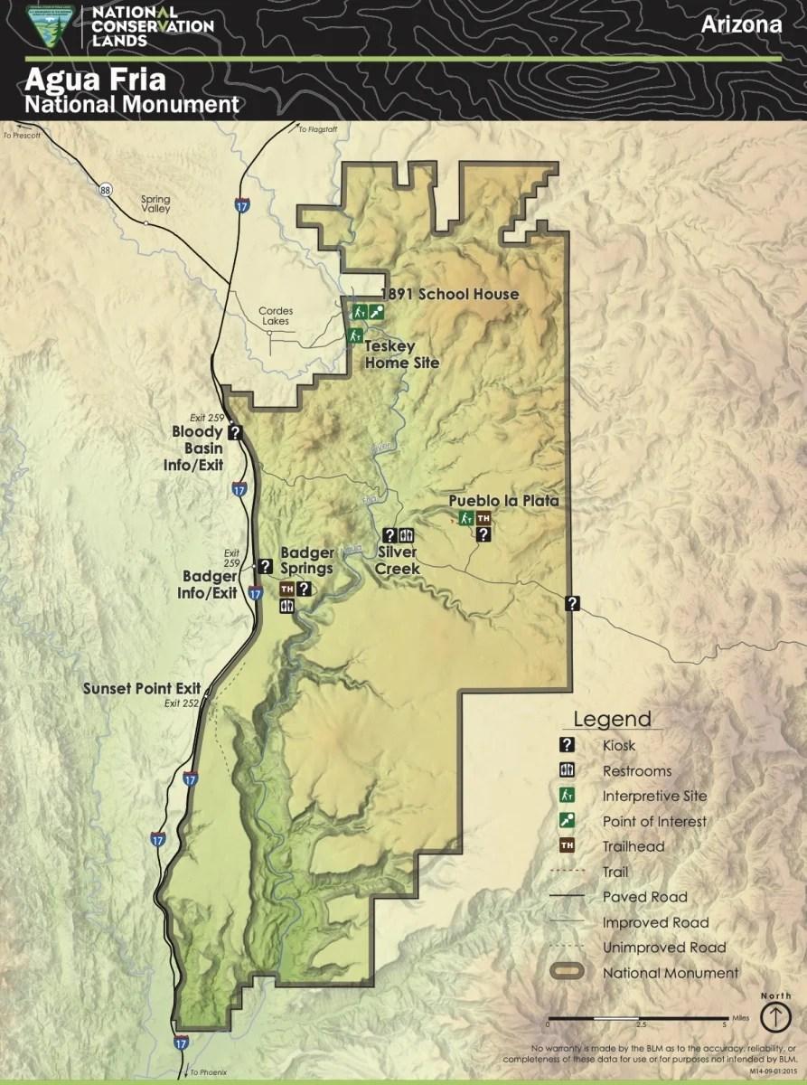 AZ AguaFria NM - Things to Do on a Drive from Phoenix to Flagstaff, Arizona