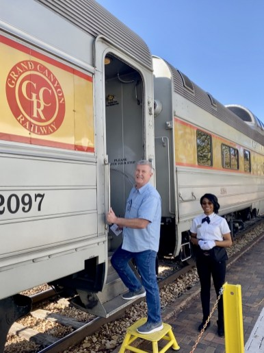 Boarding Grand Canyon railway - Take the Train to Grand Canyon National Park: An Insider's Guide