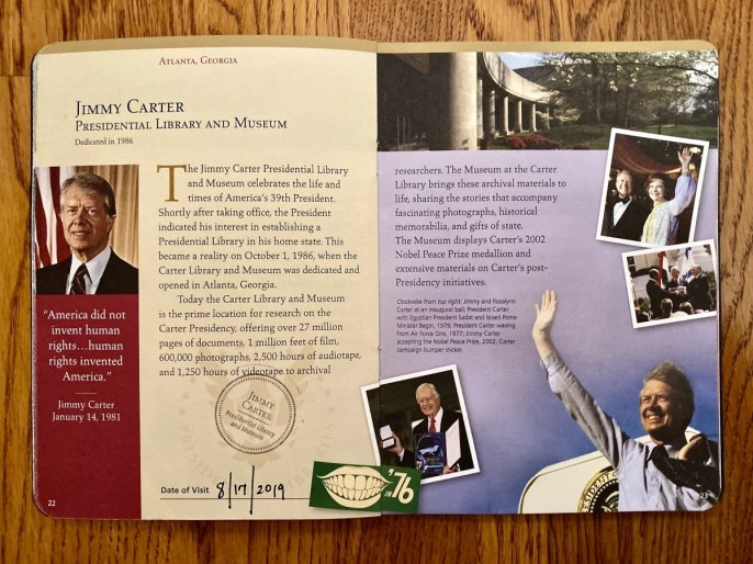 Carter Page in Passport to Presidential Libraries