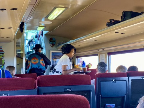 Grand Canyon Railway attendant - Take the Train to Grand Canyon National Park: An Insider's Guide
