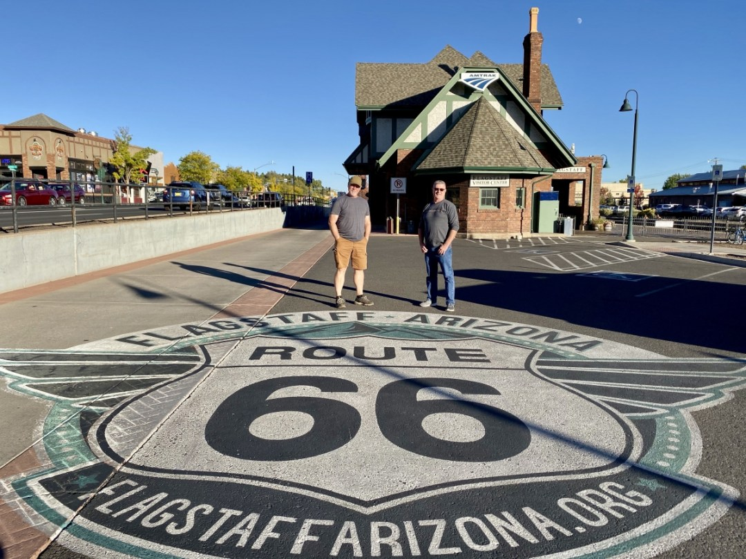 Flagstaff Route 66 Street Mural - Tour Flagstaff Attractions On Your Own