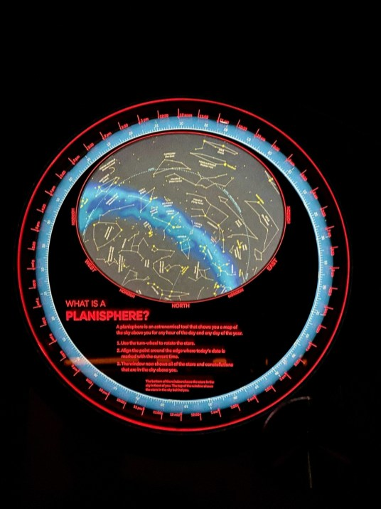 Lowell Observatory Planisphere panel - Tour Flagstaff Attractions On Your Own