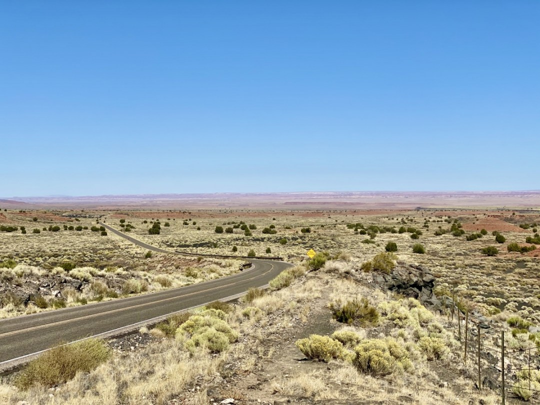 Painted Desert from Sunset Crater Loop Road - 3 Magnificent Flagstaff National Monuments
