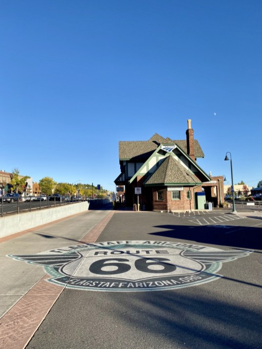 Route 66 Mural Flagstaff - Tour Flagstaff Attractions On Your Own
