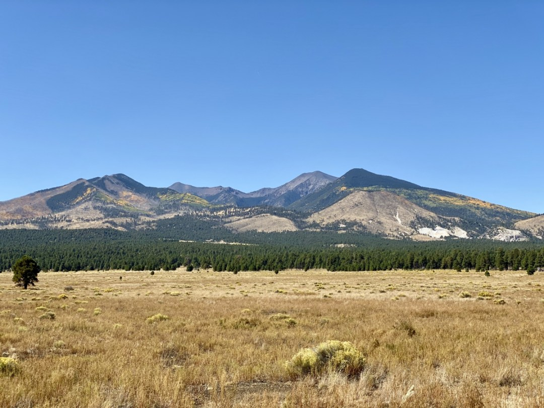 San Francisco Peaks - 3 Magnificent Flagstaff National Monuments