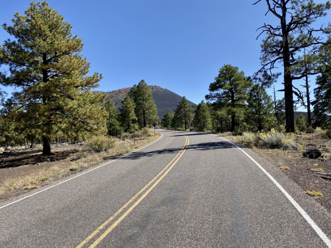 Sunset Crater Loop Road - 3 Magnificent Flagstaff National Monuments