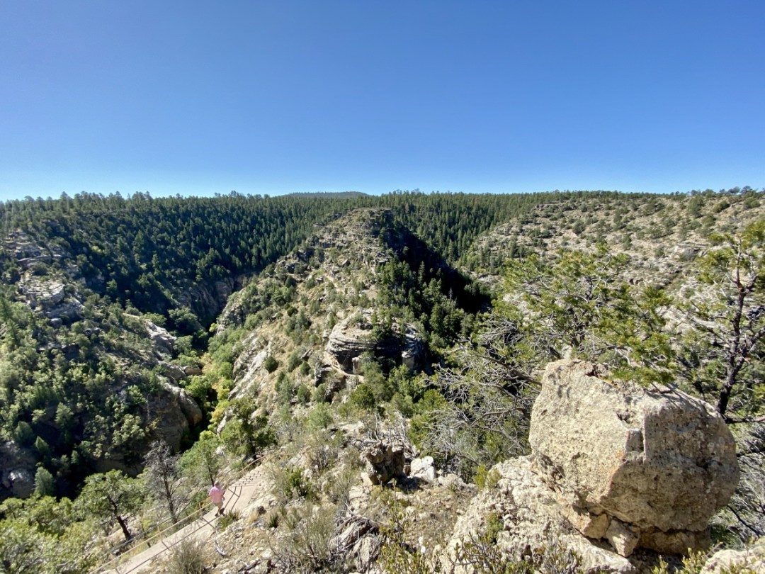 Walnut Canyon Island - 3 Magnificent Flagstaff National Monuments