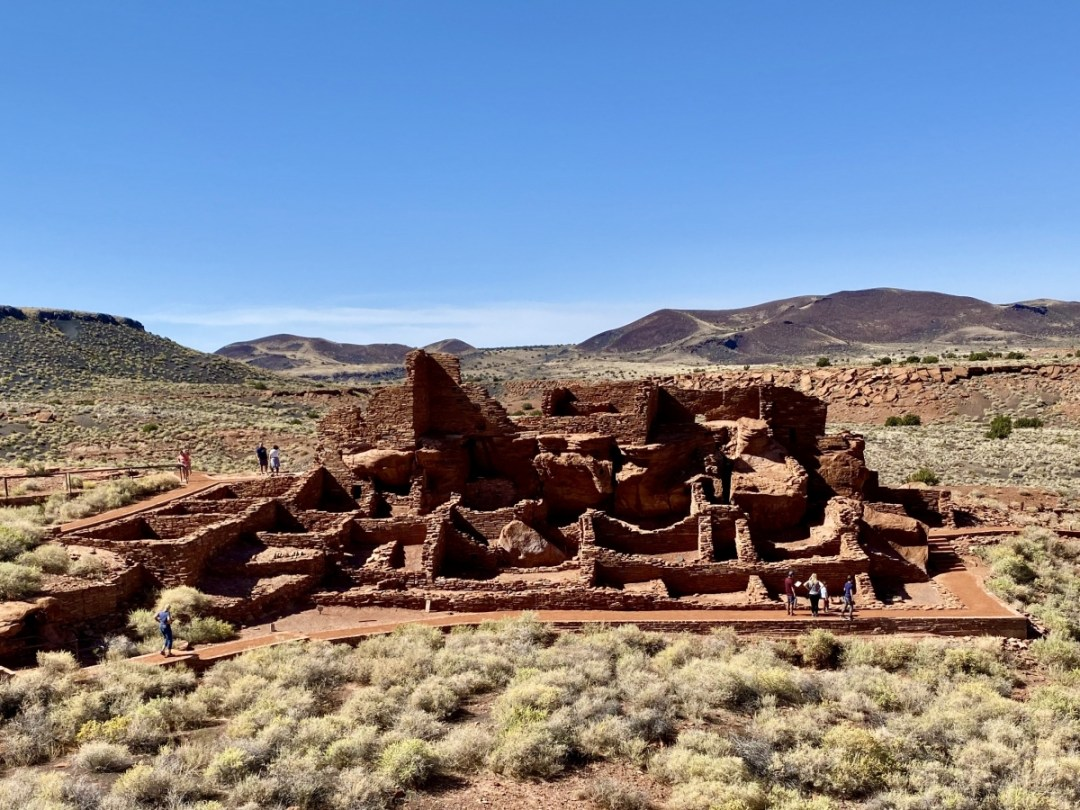 Wupatki Pueblo dwelling - 3 Magnificent Flagstaff National Monuments