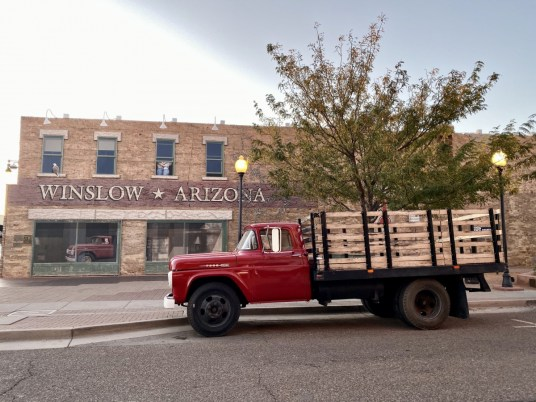 Flatbed Ford Reflection Winslow AZ - Tons of Fun Things to Do in Winslow Arizona