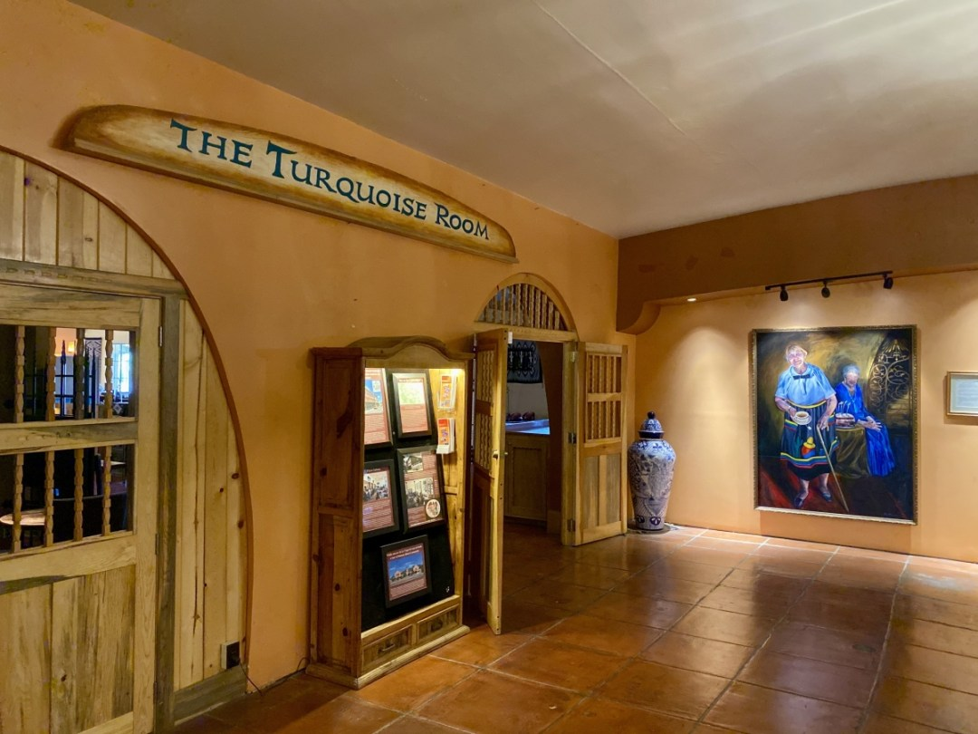 Turquoise Room La Posada Winslow AZ - Tons of Fun Things to Do in Winslow Arizona