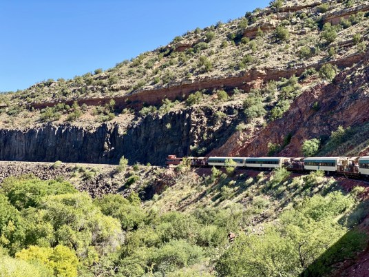 Verde Canyon Railroad caboose - Ride Arizona's Verde Canyon Railroad