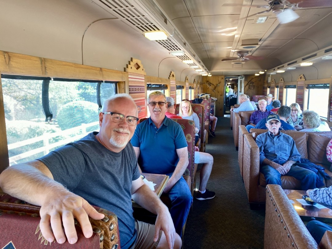 Verde Canyon Railroad first class interior - Ride Arizona's Verde Canyon Railroad