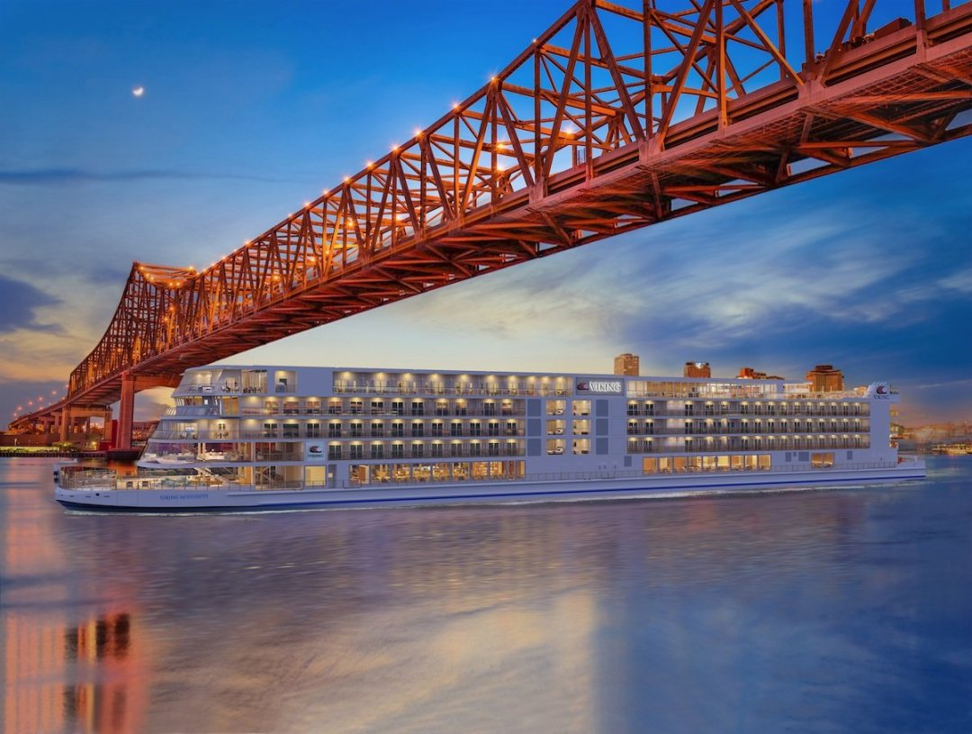 CC Viking Mississippi New Orleans TALL RND - 4 New Viking Mississippi River Cruise Routes Announced